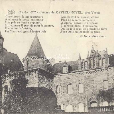19-Varetz - Château de Castel-Novel (AGPGB 257)