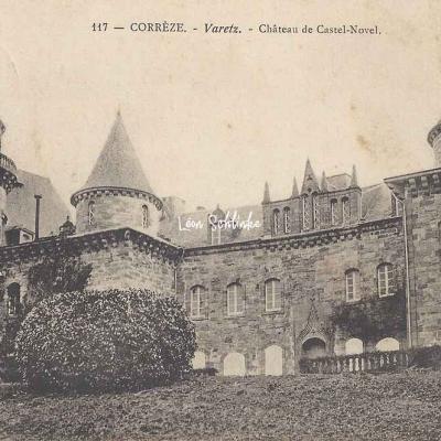 19-Varetz - Château de Castel-Novel (Meyrignac et Puydebois)