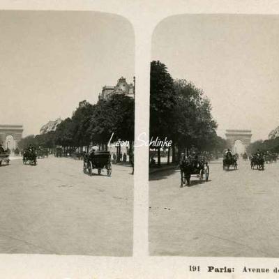 191 - Paris - Avenue des Champs-Elysées
