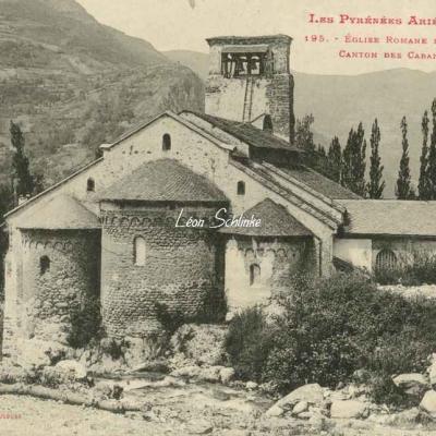 195 - Eglise romane de Verdun, canton de Cabannes