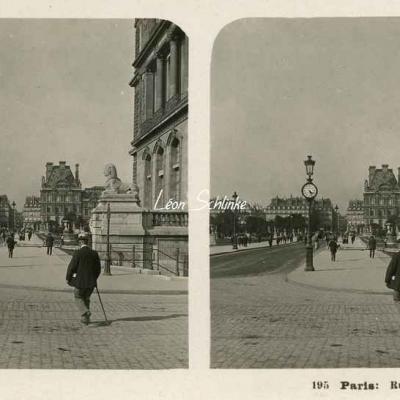 195 - Paris - Rue du Louvre