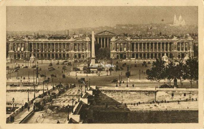195 - Vue générale de la Place de la Concorde