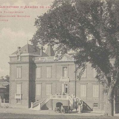 2 - Le Château de Fourquevaux, arrivée du Gal. Brugère