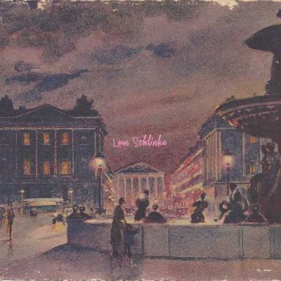 YVON - Les Féeries Nocturnes (Aquarelles ca.1930)