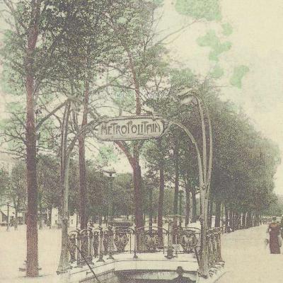 2 - Style Guimard - Station des Champs-Elysées