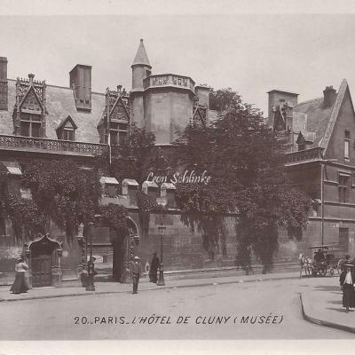 20 - L'Hôtel de Cluny (Musée)