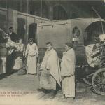 20 - Les Abattoirs de la Villette - Chargement de Viande (XIX)