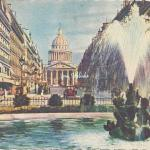 20 - Place Edmond-Rostand, rue Soufflot, Panthéon