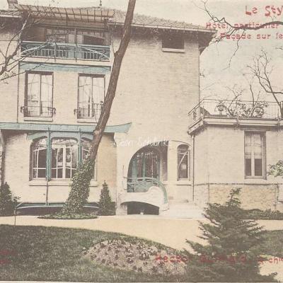 20 - Style Guimard - Hôtel particulier Bd Suchet