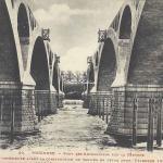 Toulouse - Construction du Pont des Amidonniers