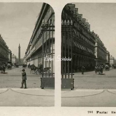 201 - Paris - Rue de Castiglione
