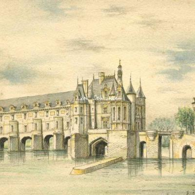 Barday 10x15 - 2038 - Chenonceaux