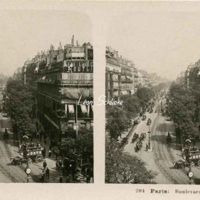 204 - Paris - Boulevard Montmartre