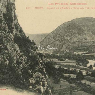 204 - Ussat - Vallée de l'Ariège à Ornolac