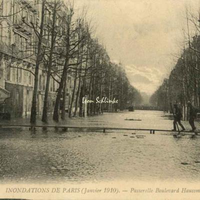 206 - Passerelle Boulevard Haussmann