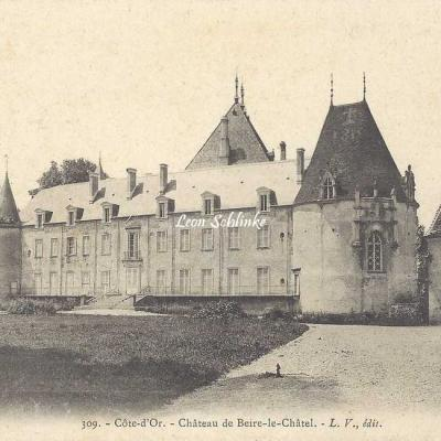 21-Beire-le-Châtel - 309 - Le Château (L.V. édit)