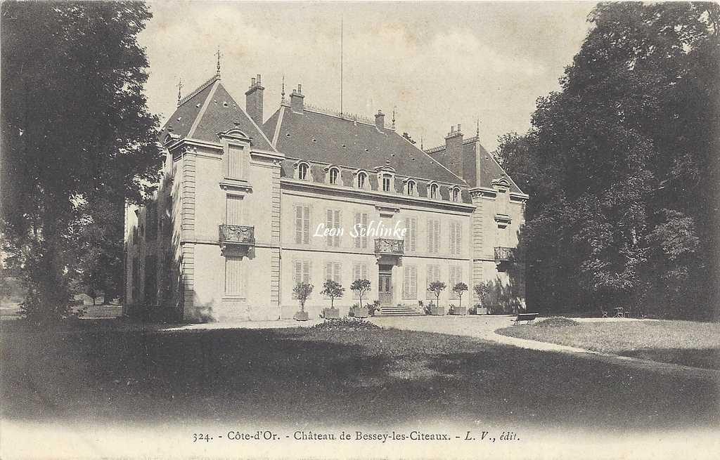 21-Bessey-les-Citeaux - 324 - Le Château (L.V. édit)