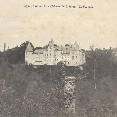 21-Brémur et Vaurois - 279 - Le Château (L.V. édit)