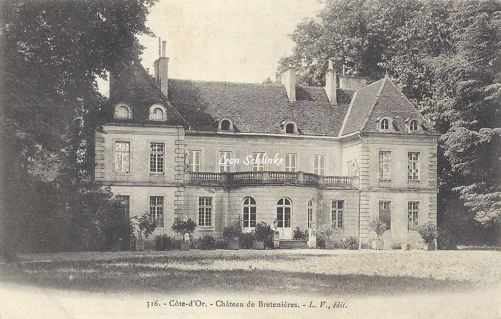 21-Bretenière - 316 - Le Château (L.V. édit)