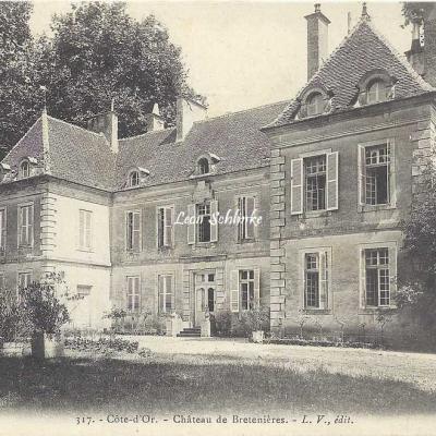 21-Bretenière - 317 - Le Château (L.V. édit)
