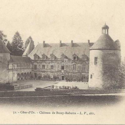 21-Bussy-le-Grand - 51 - Château de Bussy-Rabutin (L.V. edit)