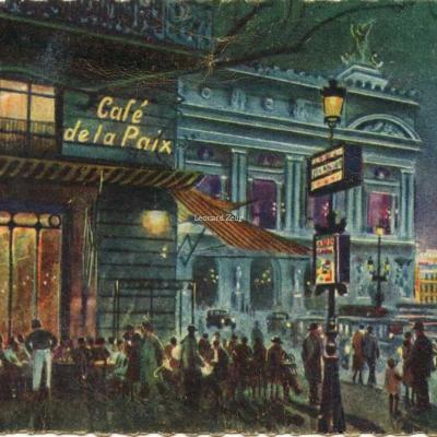 21 - Café de la Paix - Théâtre de l'Opéra