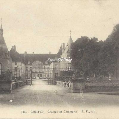 21-Châteauneuf - 122 - Château de Commarin (L.V. édit)