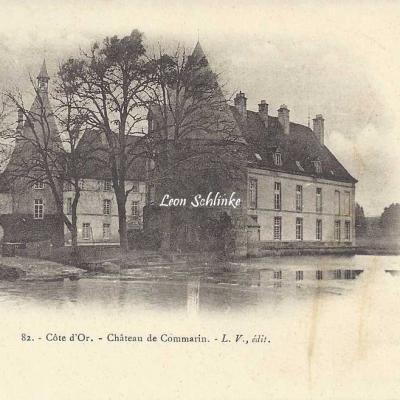 21-Châteauneuf - 82 - Château de Commarin (L.V. édit)