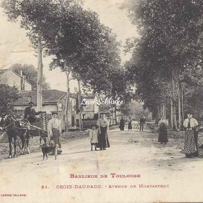 21 - Croix-Daurade - Avenue de Montastruc