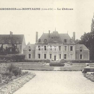 21-Grosbois-en-Montagne - Le Château (Bauer-Marchet & Cie 6)