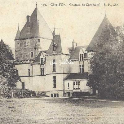 21-Ivry-en-Montagne - 379 - Château de Coraboeuf (L.V. edit)