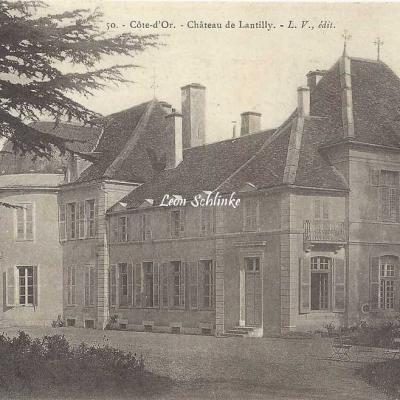 21-Lantilly - 50 - Le Château (L.V. édit)