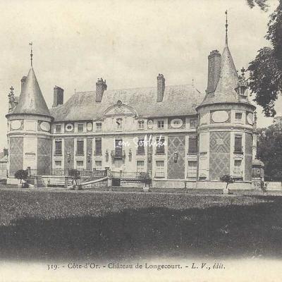 21-Longecourt-en-plaine - 319 - Le Château (L.V. edit)