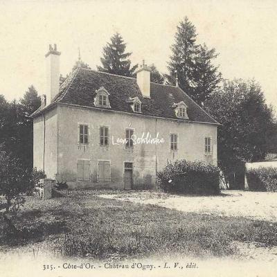 21-Marcilly-Ogny - 315 - Château d'Ogny (L.V. Edit)