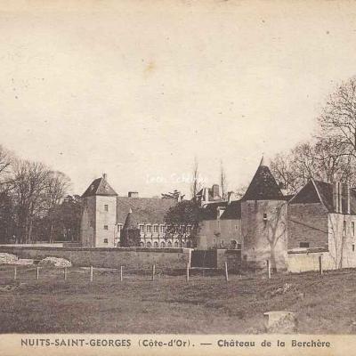 21-Nuits-Saint-Georges - Château de la Berchère (L.Bernuy 664)