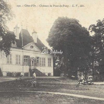 21-Pont-de-Pany - 250 - Le Château (L.V. édit)