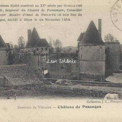 21-Posanges - Le Château (J.L.Flavigny)