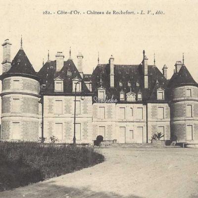 21-Rochefort-sur-Brévon - 282 - Château de Rochefort (L.V. edit)