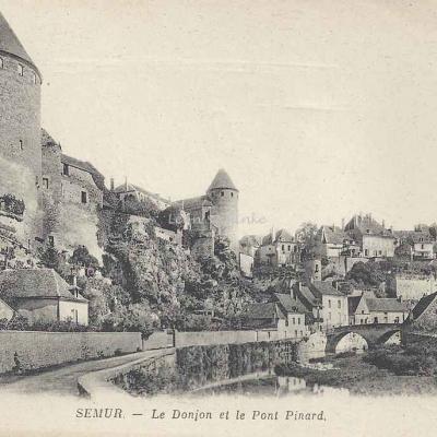 21-Semur - Le Donjon et le Pont Pinard (ND 2)