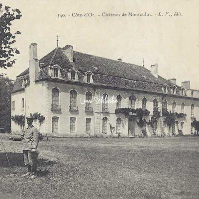 21-Urcy - 340 - Château de Montculot (L.V. edit)
