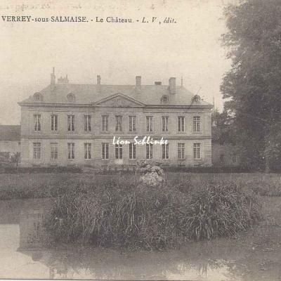 21-Verrey-sous-Salmaise - Le Château (L.V. édit.)