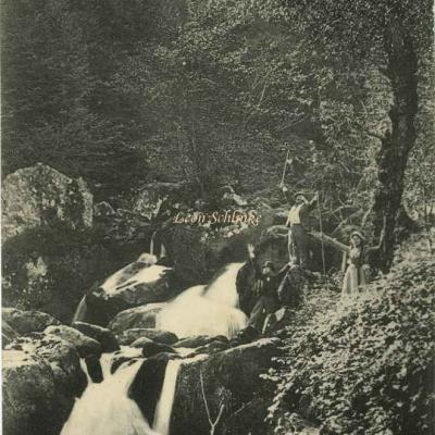 211 - Ax-les-Thermes - Cascade du Nagear