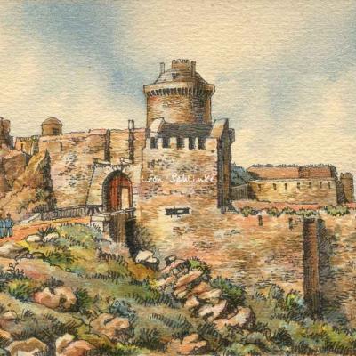 Barday 10x15 - 2172 - Fort de la Latte