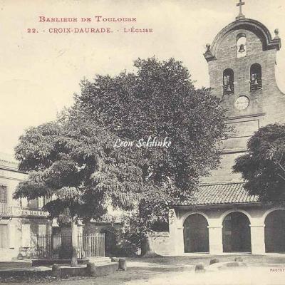 22 - Croix-Daurade - L'Eglise