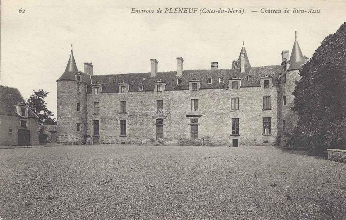 22-Erquy - Château de Bien-Assis (ND 62)
