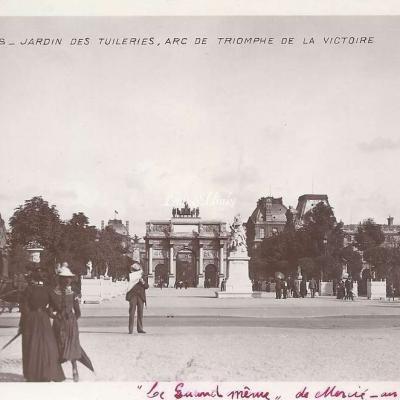 22 - Jardin des Tuileries, Arc de Triomphe de la Victoire