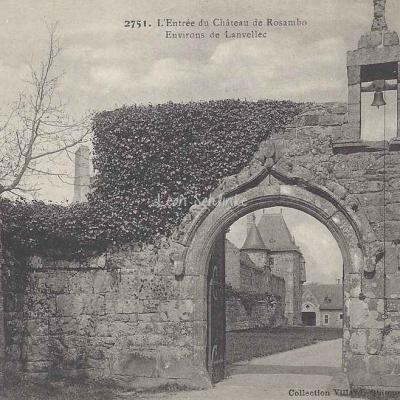 22-Lanvellec - Château de Rosanbo (Villard 2751)