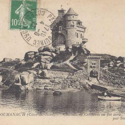 22-Ploumanac'h - Château de Costaérès (ND 233)