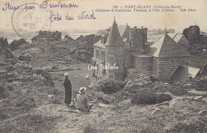 22-Port-Blanc - Château d'Ambroise Thomas (ND 103)
