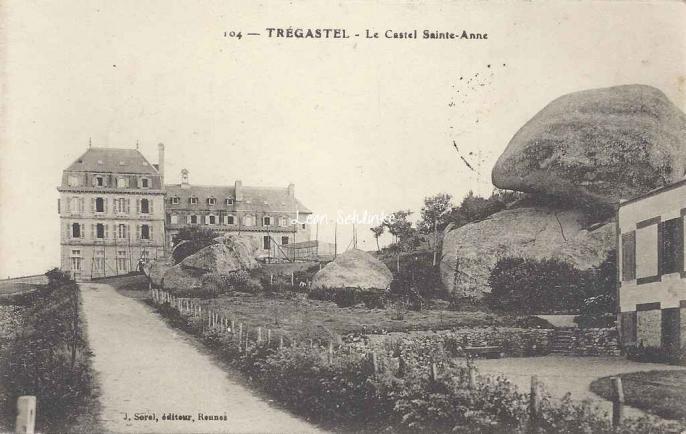 22-Trégastel - Castel Ste-Anne (J.Sorel 104)